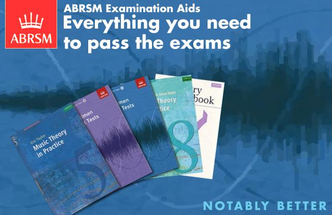 ABRSM exam books